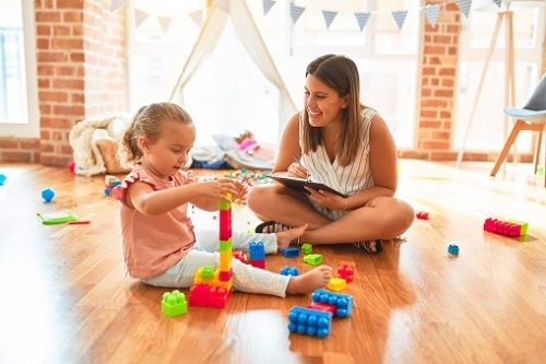 Creative play therapy for kid